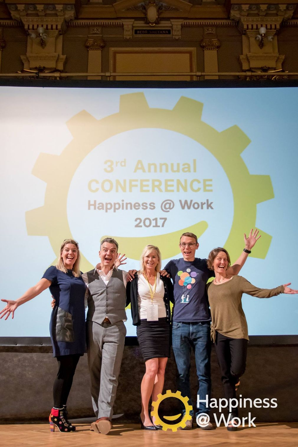Happiness at work: Štěstí v práci Happiness manager nevytvoří