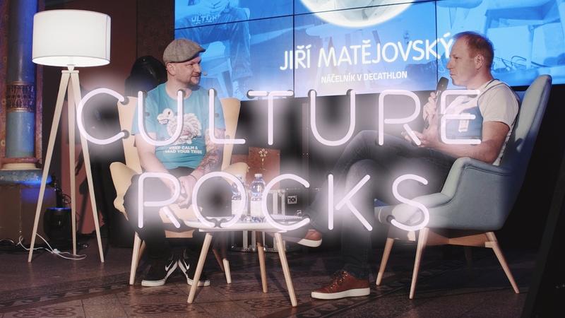 Jiří Matějovský na Culture Rocks
